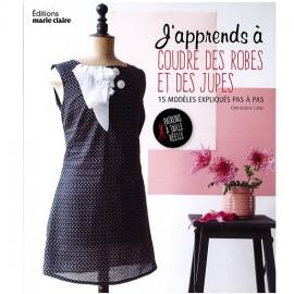 """Livre """"J'apprends à coudre des robes et des jupes"""""""
