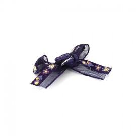 Noeud Fleuri à coller/ coudre violet