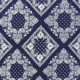 Tissu Jeans Decorative squares x 10cm