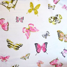 Canvas Fabric - Olivia Cream 280 cm x 63 cm