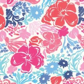 Tissu Paradiso Fleurs Multi x 31cm