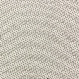 Jersey fishnet fabric - beige x 10cm