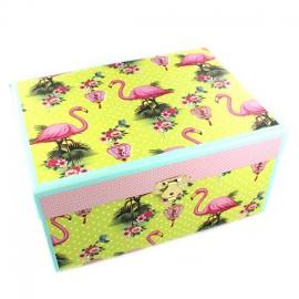 """♥ Jewelry box """"Flamingo"""" - multicolored ♥"""