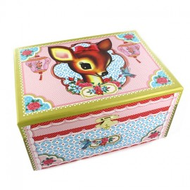 "Jewelry box ""Doe eyes"" - multicolored"