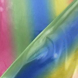 Tissu Lycra Arc-en-Ciel x 10cm