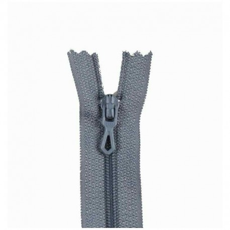Closed bottom zipper - anthracite grey