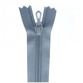 Fermeture Eclair® non séparable - gris foncé