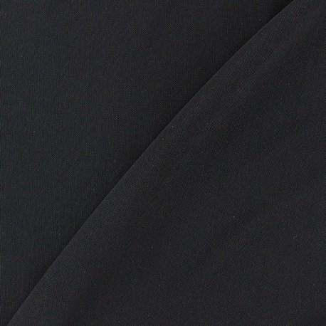 Tissu gainant noir x10 cm