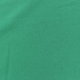 Blouse Crepe Fabric - Meadow green x 10cm