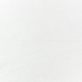 Blouse Crepe Fabric - Ecru x 10cm