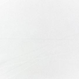 Tissu Crêpe Chemisier blanc cassé x10cm