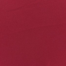 Blouse Crepe Fabric - Dark red x 10cm