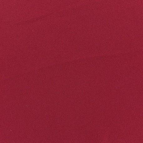 Blouse Crepe Fabric - Dark red x 10cm