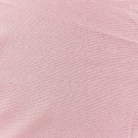 Tissu Crêpe Chemisier rose x10cm