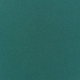 Tissu Crêpe Chemisier paon x10cm