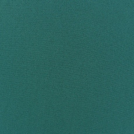Blouse Crepe Fabric - Peacock x 10cm