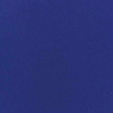 Tissu Crêpe Chemisier bleu navy x 10cm