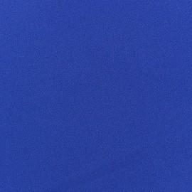 Tissu Crêpe Chemisier bleu roy x 10cm
