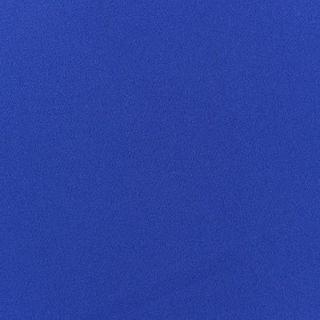 Blouse Crepe Fabric - Royal blue x 10cm