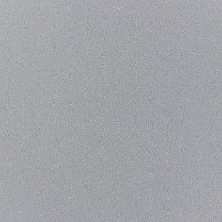 Tissu Crêpe Chemisier gris x 10cm