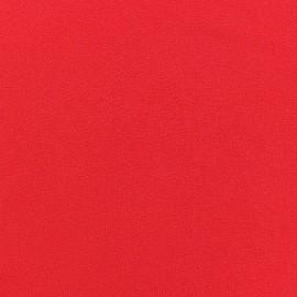 Tissu Crêpe Chemisier rouge x 10cm