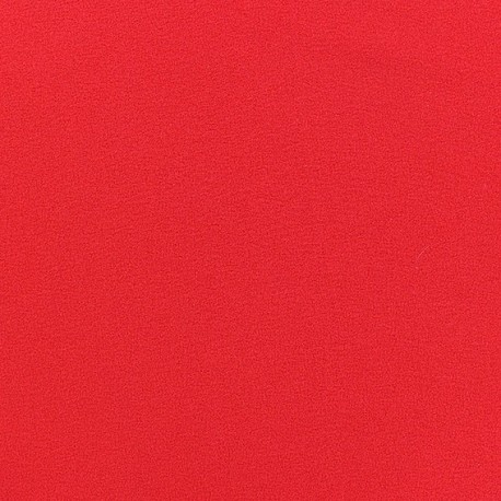 Blouse Crepe Fabric - Red x 10cm