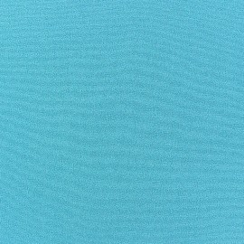 Blouse Crepe Fabric - Turquoise x 10cm