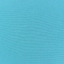 Blouse Crepe Fabric - Turquoise x 10cm