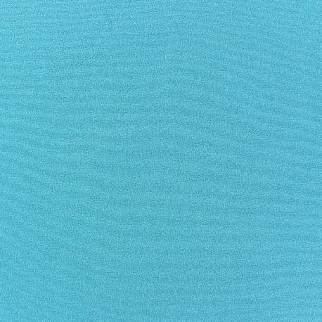 Tissu Crêpe Chemisier turquoise x 10cm