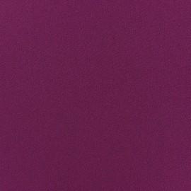 Blouse Crepe Fabric - Eggplant x 10cm