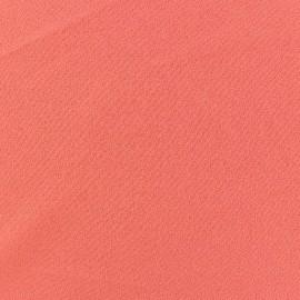 ♥ Coupon 40 cm X 140 cm ♥ Tissu Crêpe Chemisier corail