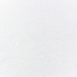 Tissu Crêpe Chemisier blanc x 10cm