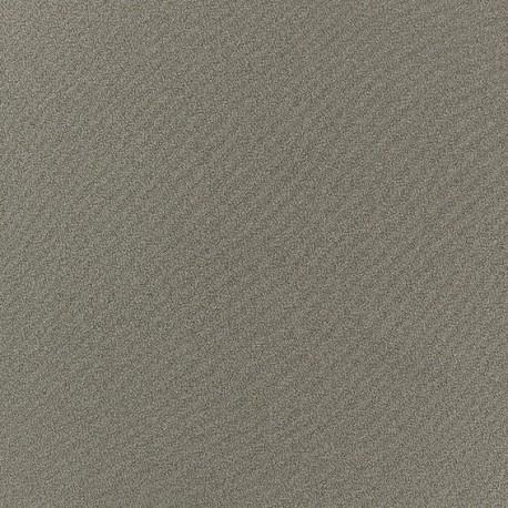 Tissu Crêpe Chemisier havane x 10cm