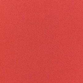 Blouse Crepe Fabric - Brick x 10cm