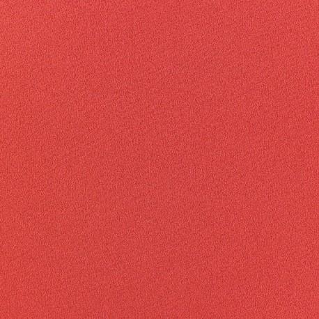Tissu Crêpe Chemisier brique x 10cm