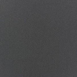 Tissu Crêpe Chemisier gris ardoise x 10cm
