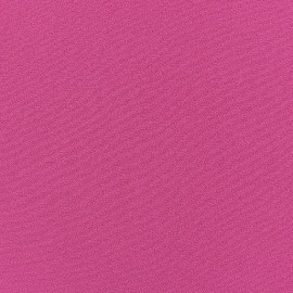 Tissu Crêpe Chemisier fuchsia x 10cm