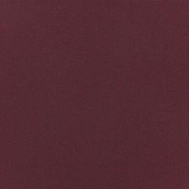 Tissu Crêpe Chemisier lie de vin x 10cm
