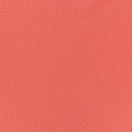 Tissu Jersey résille sport orange x 10cm