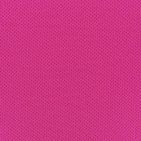 Fishnet jersey sport fabric - Fuchsia x 10cm