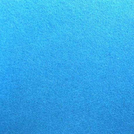 Thick Felt Fabric - Turquoise x 10cm