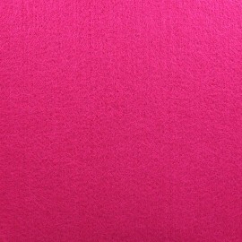 Tissu Feutrine épaisse fuchsia x 10cm