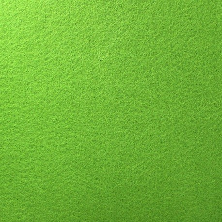 Thick Felt Fabric - Lime Green x 10cm
