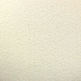 Thick Felt Fabric - Off-white x 10cm
