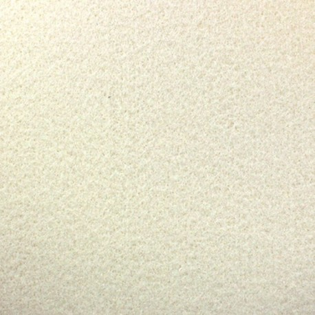 Thick Felt Fabric - Off-white x 10cm