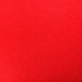 Thick Felt Fabric - Red x 10cm
