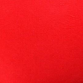 Tissu Feutrine épaisse rouge x 10cm