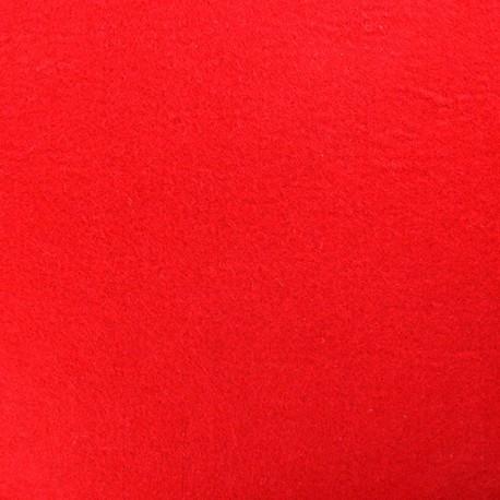 Thick Felt Fabric - Red x 10cm