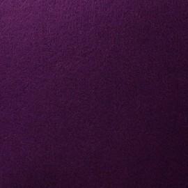Thick Felt Fabric - Eggplant x 10cm
