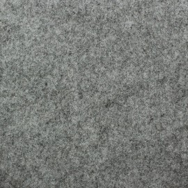 Thick felt fabric - mocked grey x 10cm